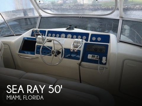 1990 Sea Ray Sedan Bridge 500