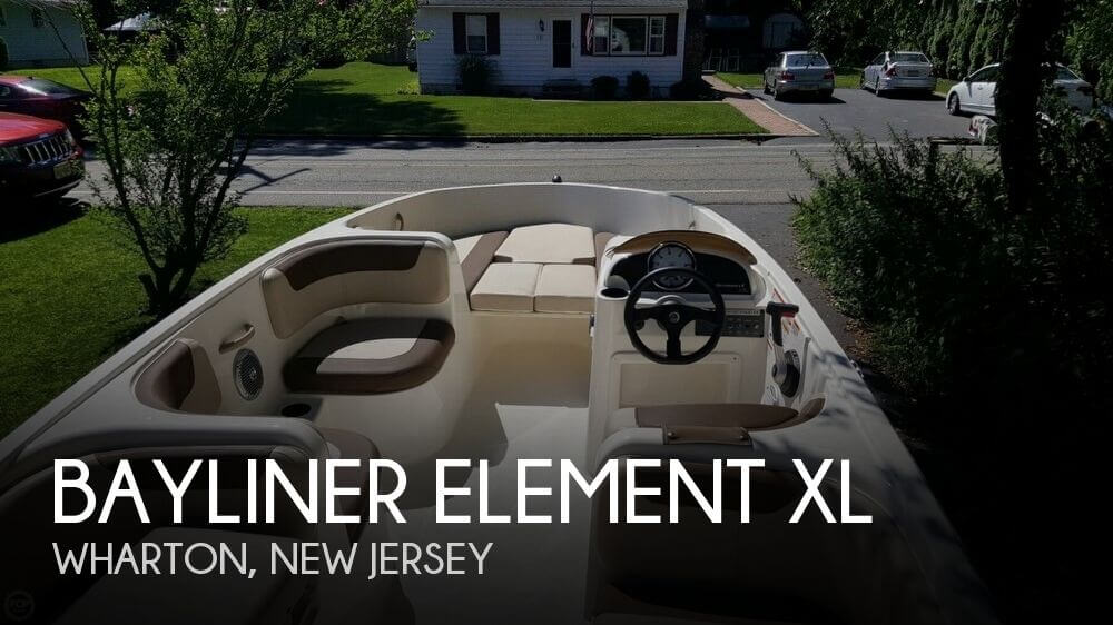 2015 Bayliner Element XL