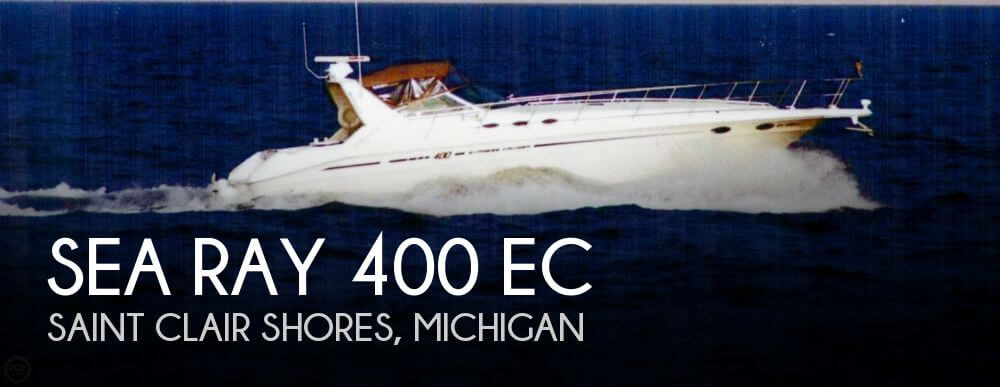 1998 Sea Ray 400 EC