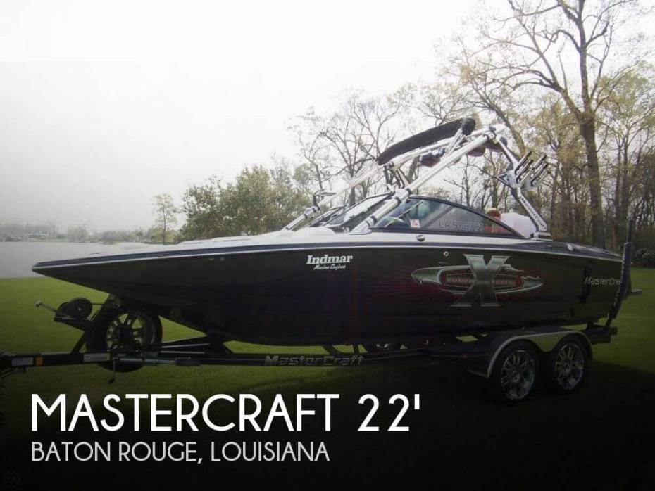 2007 Mastercraft 22 X Star Pro Wakeboard Tour Edition