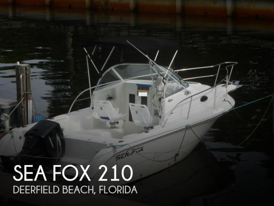 2004 Sea Fox 210