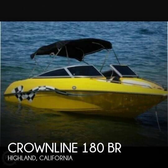 2007 Crownline 180 BR