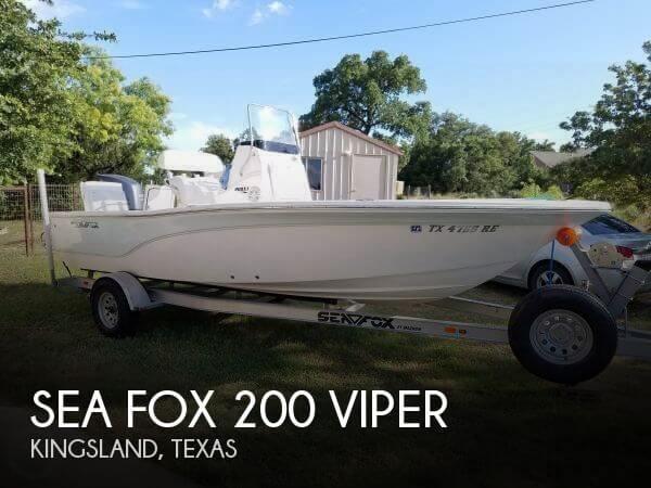 2013 Sea Fox 200 Viper