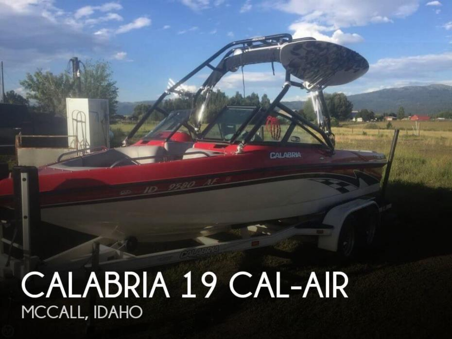 2004 Calabria 19 Cal-Air