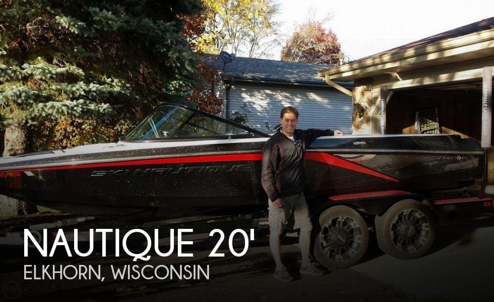 2012 Nautique 200 Andy Mapple Icon Edition