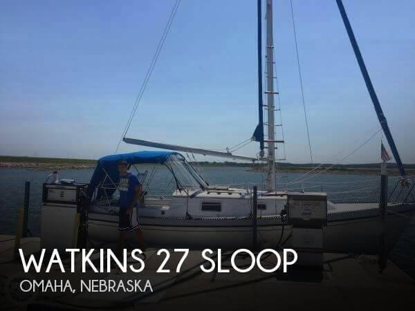 1983 Watkins 27 Sloop