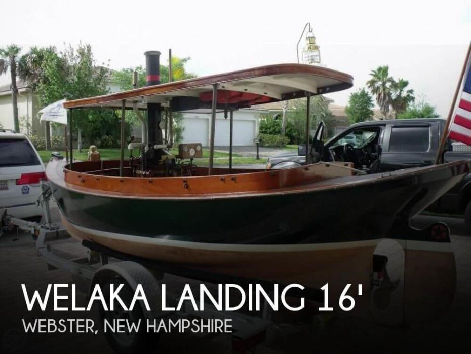 1999 Welaka Landing 16 Steam Launch
