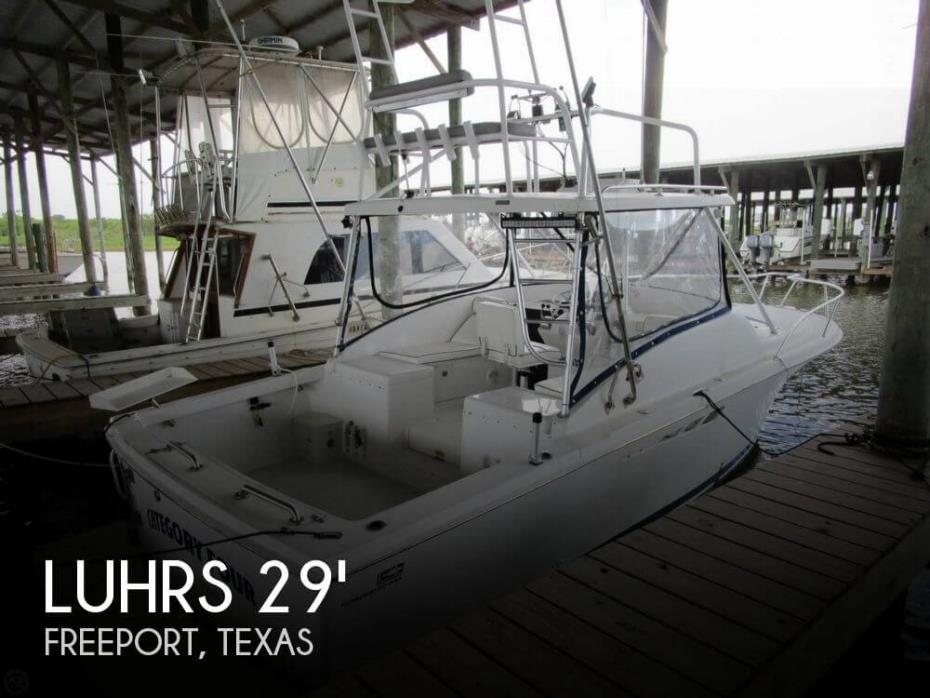 1998 Luhrs 290 Open Sportfisher