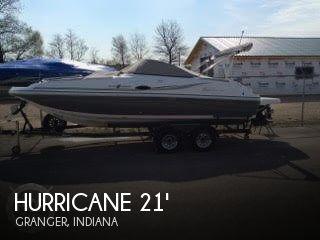 2014 Hurricane 217 Sun Deck