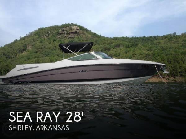 2008 Sea Ray 270 SLX Bowrider