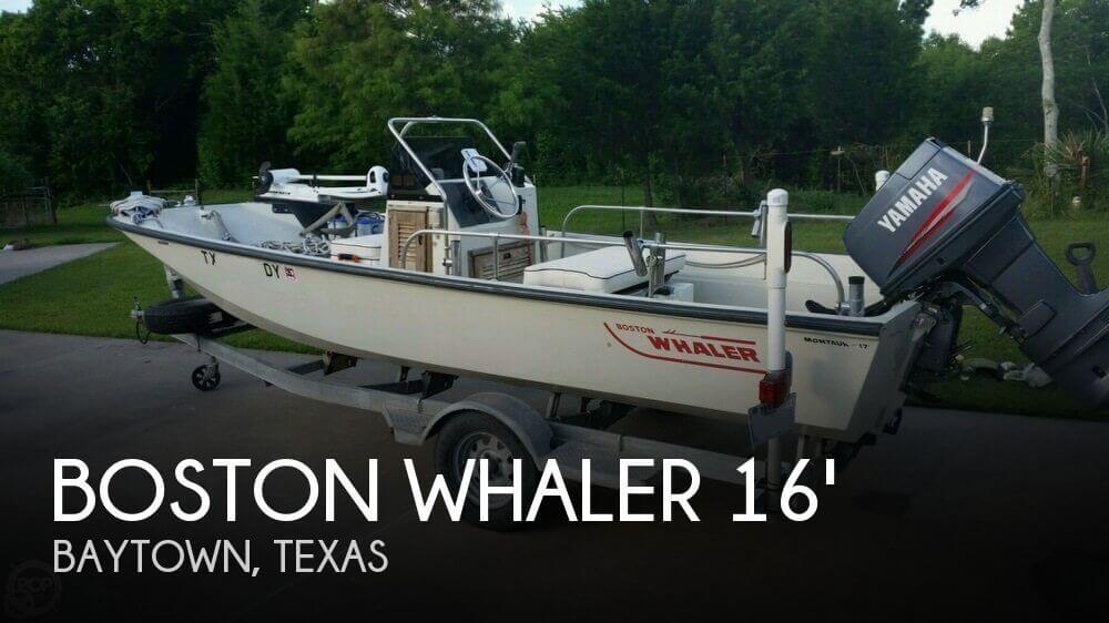 1987 Boston Whaler 170 Montauk