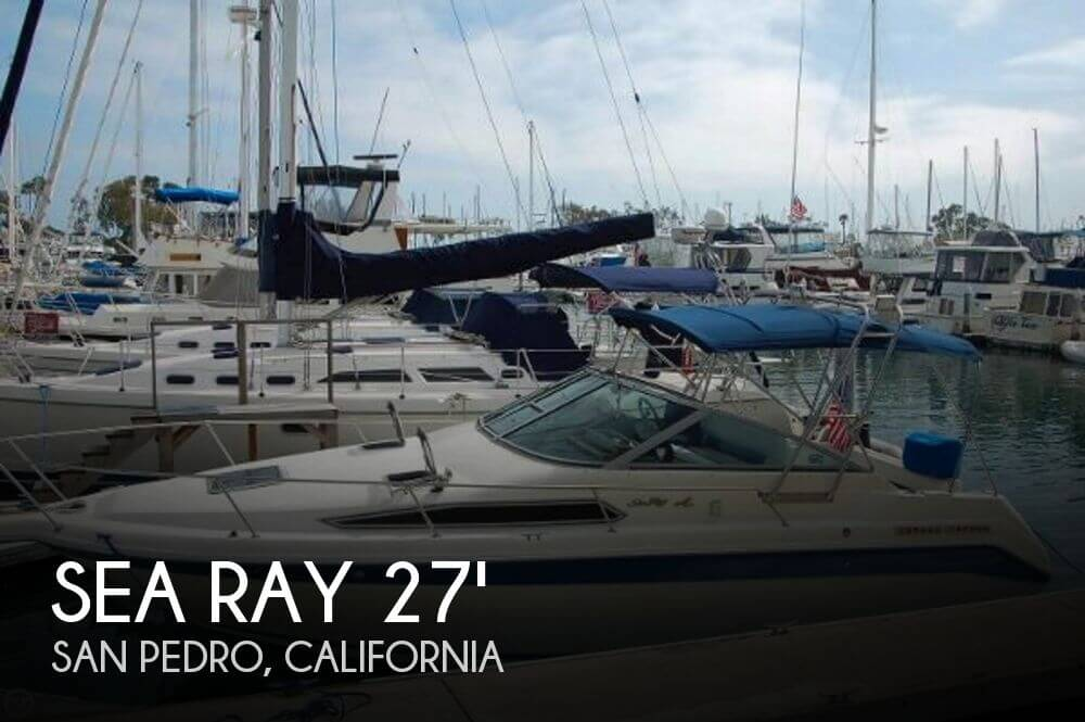 1992 Sea Ray 270 Sundancer