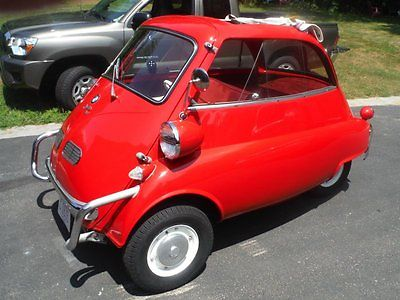1957 BMW Isetta 300 Total Body off restoration Micro Car