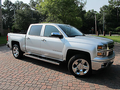 Chevrolet Silverado 1500 Ltz Z41 4x4 4wd Cars For Sale