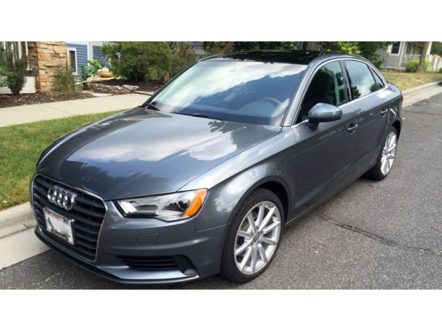 Audi : A3 Premium Plus Very nice 1 owner trade with a Clean CarFax
