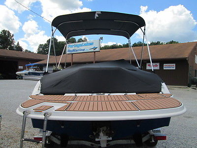 STARCRAFT LIMITED 20 DECK BOAT - NEW 2015 WITH ALUMINUM TRAILER PACKAGE!