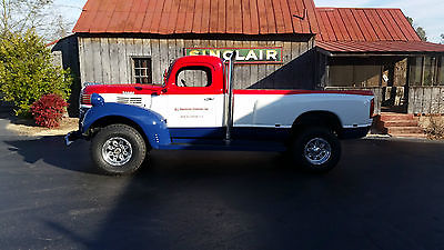 Dodge : Ram 2500 PICKUP 1946 dodge truck 4 x 4 cummins diesel power wagon