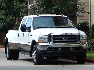 Ford : F-350 FreeShipping F-350 7.3L Diesel 4X4 Crew Cab Long bed Dually Lariat 71K Miles! MINT CONDITION!