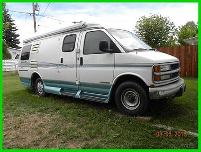 2000 Roadtrek 200 Versatile Class B RV Chevy 350 Gas Generator A/C WYOMING