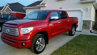 Toyota : Tundra Platinum 2015 toyota tundra platinum 4 wd 3100 miles original owner premium sound