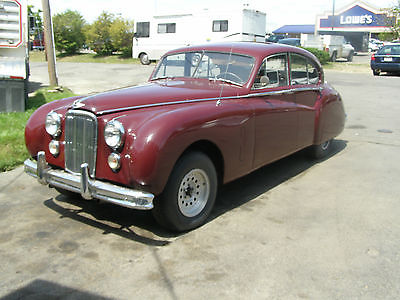 Jaguar : Other 4 dr 1954 jaguar saloon mk vii