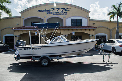 2006 Key West 172 Dual Console With Yamaha 90 Two Stroke!!