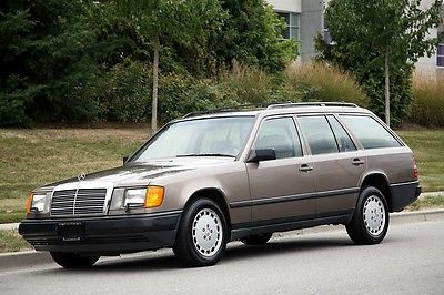 Mercedes-Benz : 300-Series WAGON 1987 mercedes benz 300 td wagon 7 seater 122 k miles real leather no rust