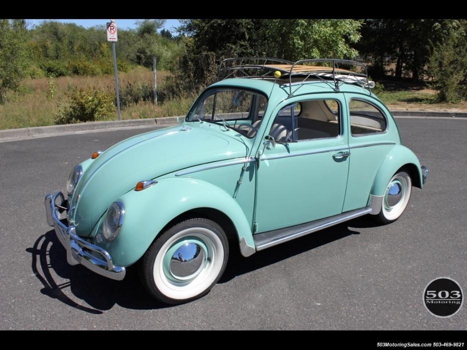 Volkswagen : Beetle - Classic Ragtop 1963 volkswagen beetle classic ragtop 4 speed manual 2 door sedan