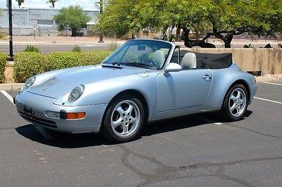 Porsche : 911 Cabriolet 95 c 2 cab 14 k original miles immaculate