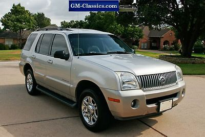 Mercury : Mountaineer V8 AWD Mercury Mountaineer V8 AWD Loaded Garaged and Immaculate Explorer Aviator