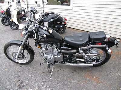 Honda : Rebel 09 honda rebel 250 779 miles