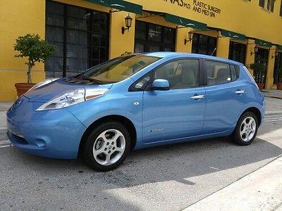 Nissan : Other SL 2012 nissan leaf sl heated front rear seats navigation backup camera 38 k new