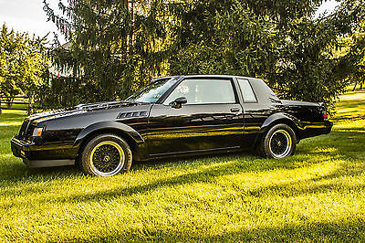 Buick : Grand National GNX 1987 buick gnx all original no mods a true collector car 163 of just 547