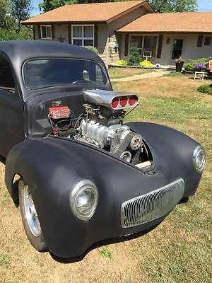 Willys : 1940 WILLYS COUPE PRO STREET 1940 WILLYS COUPE 1940 willys