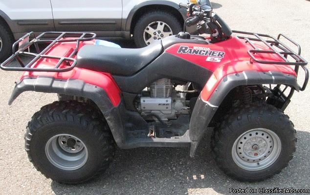 Honda Honda Rancher 350 2wd Motorcycles For Sale