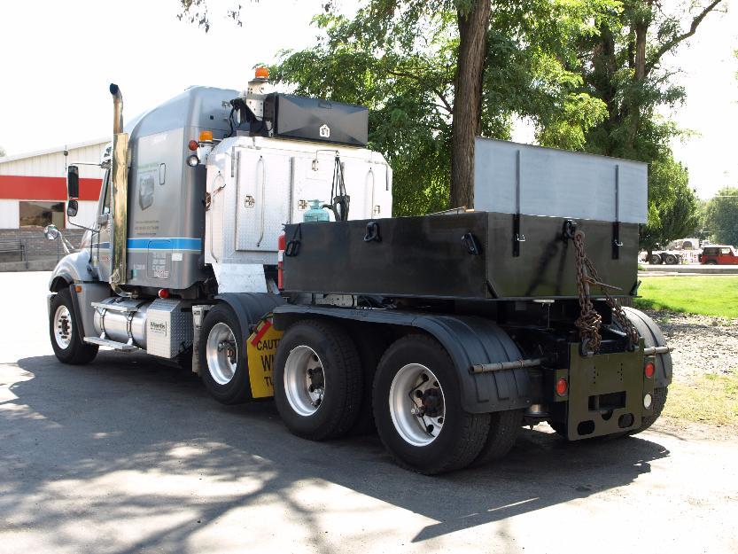 4 axle heavy haul truck setup to push also