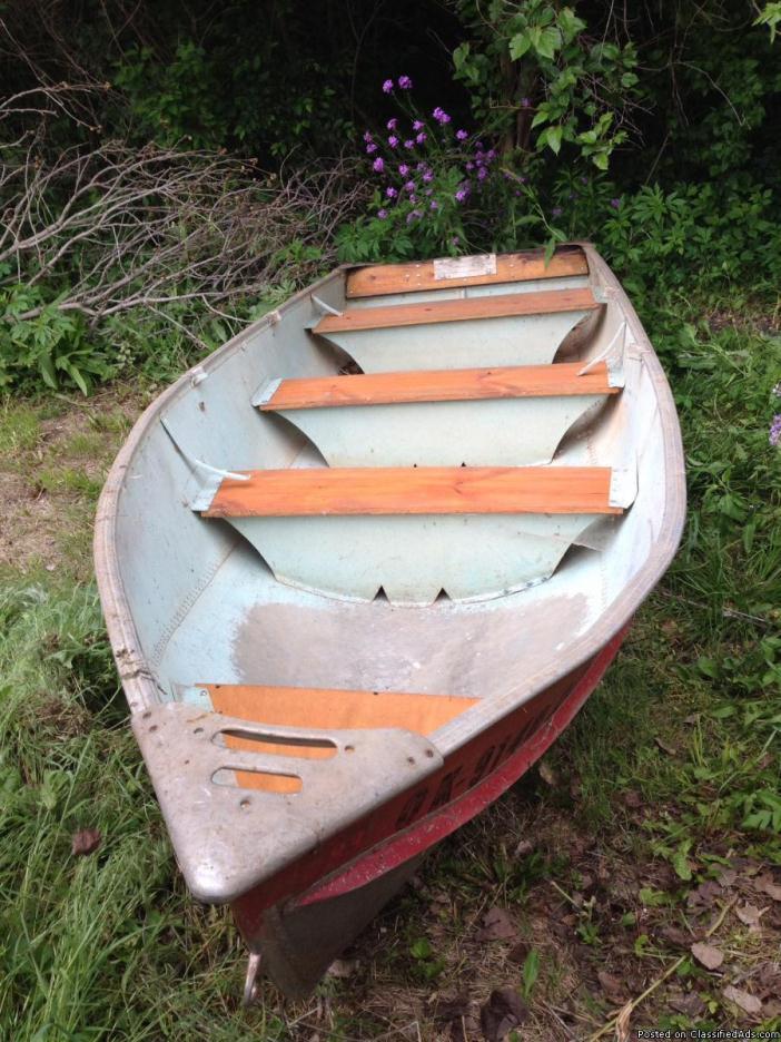 aluminum boat 14 ft