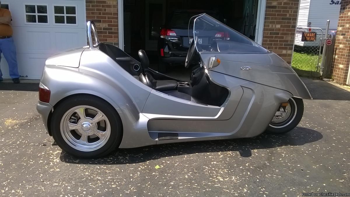 trike motorcycle 3 wheel