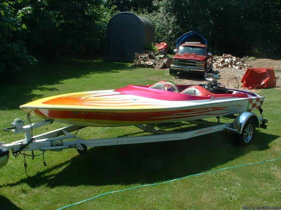 18' Sundance Jet Boat