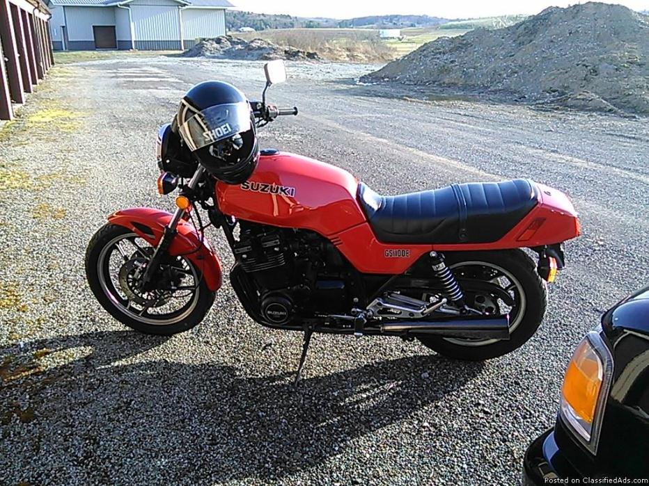 1983 Suzuki Gs1100e Motorcycles for sale