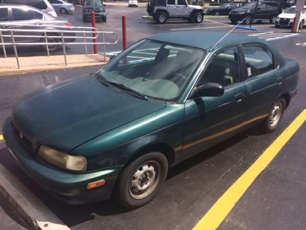 Suzuki Esteem 1998