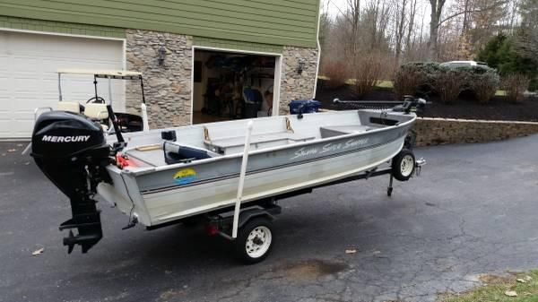 16' 1992 Sylvan Super Snapper Deep V