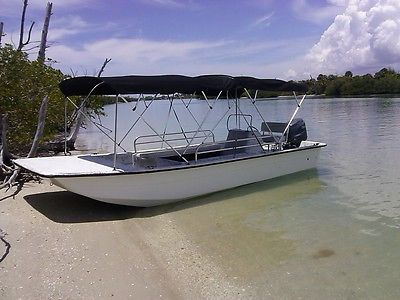 Glass Bottom Boat Carolina Skiff  21