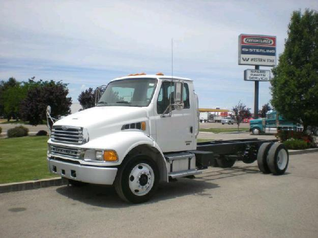 Sterling acterra cab chassis truck for sale