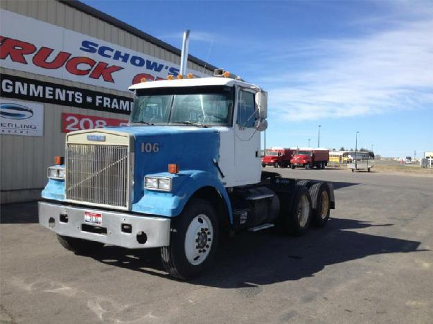Volvo wia64t tandem axle daycab for sale