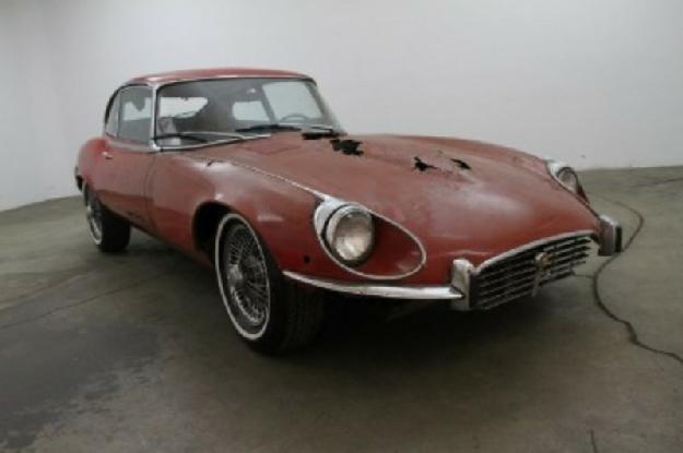 1972 Jaguar Xke for: $9750