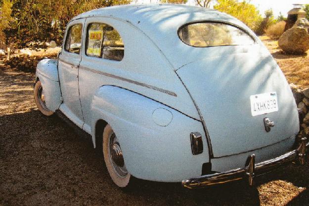 1941 Ford 2 Dr. Sedan for: $12000