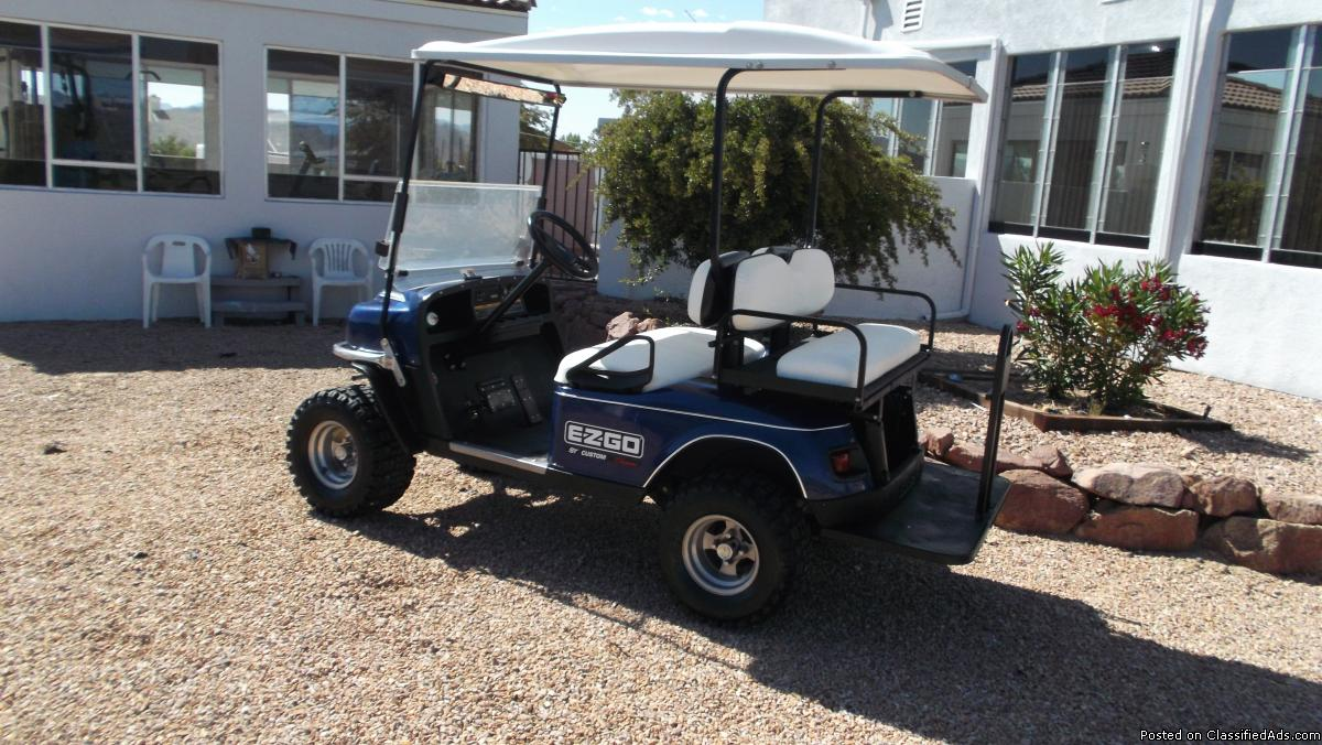 2010 GAS GOLF CART EZ-GO ST CUSTOM.4 SEATER