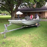 16Ft. Boat motor and trailer