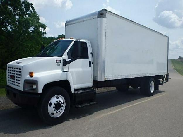 Gmc topkick c7500 straight - box truck for sale